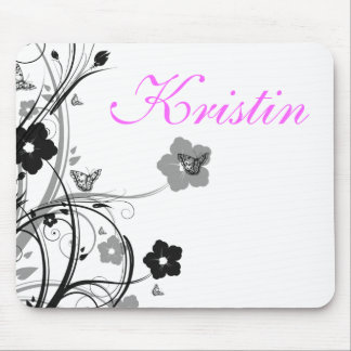 Butterflies and Flowers, Personal Mouse Pad