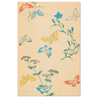 Butterflies and Queen Anne's Lace Tissue Paper