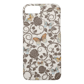 Butterflies and Roses iPhone 7 Case