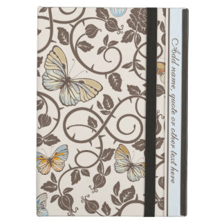 Butterflies and Roses On Cream Case For iPad Air