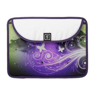 Butterflies and swirls sleeve for MacBook pro