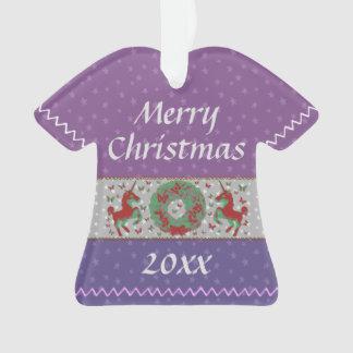 """""""Butterflies and Unicorns"""" T-Shirt Ornament (MvPr)"""