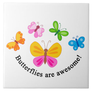 Butterflies are awesome tiles