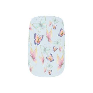 Butterflies are Free Minx Nail Art