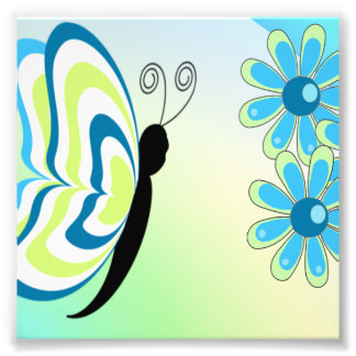 Butterflies Are Groovy Photo Print
