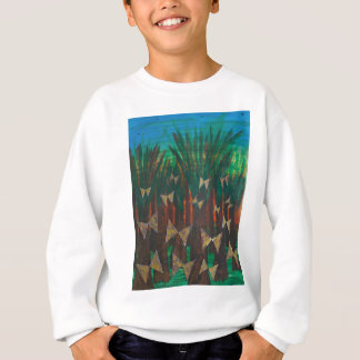 Butterflies ascending from the forest sweatshirt