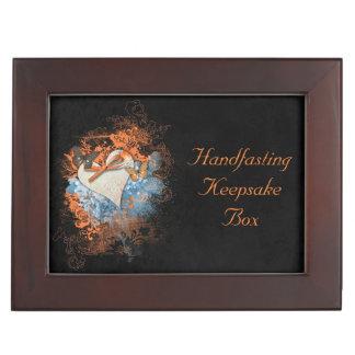 Butterflies at Samhain Handfasting Keepsake Gift Memory Boxes