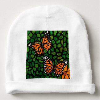 butterflies baby beanie