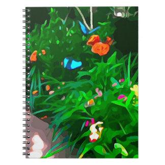 Butterflies Blue Digitized Notebooks