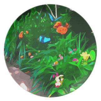 Butterflies Blue Digitized Plate
