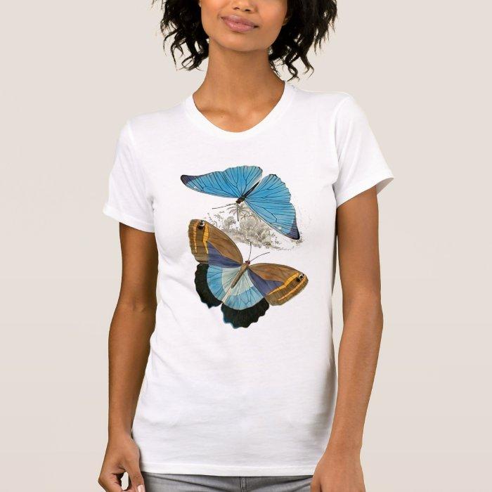 Butterflies - Blue T-Shirt