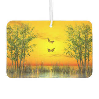 Butterflies by sunset - 3D render Air Freshener