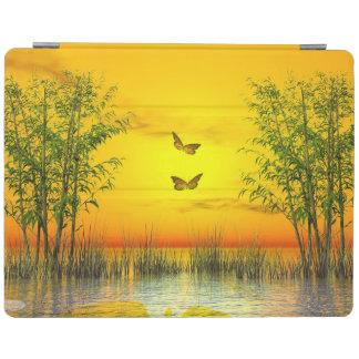 Butterflies by sunset - 3D render iPad Cover