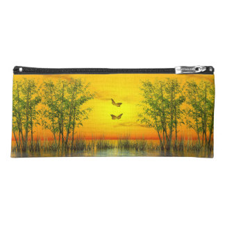 Butterflies by sunset - 3D render Pencil Case