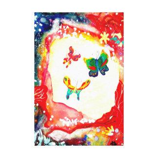 Butterflies. Canvas Print