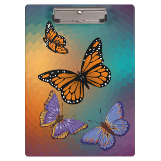 BUTTERFLIES CLIPBOARD