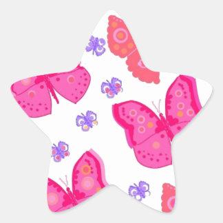 butterflies dig2.jpg star sticker