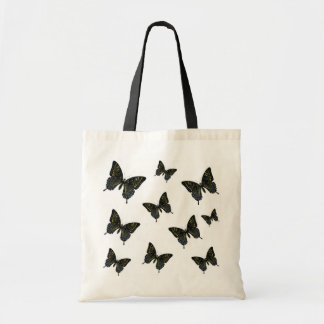 Butterflies Flock Of Swallowtails Grocery Bag