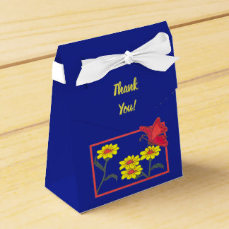 Butterflies & Flowers II Tent Favor box