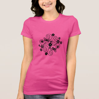 Butterflies & Flowers T-Shirt