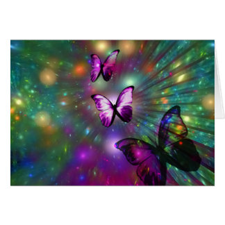 Butterflies Forever Card