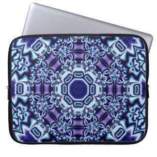 Butterflies Fractal Kaleidoscope Laptop Sleeve