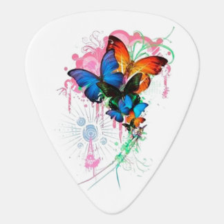Butterflies Guitar Pick