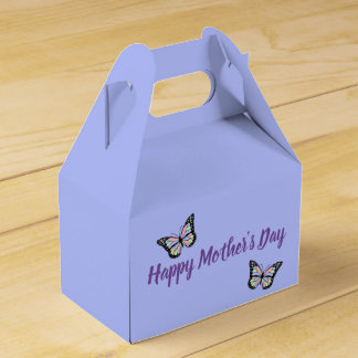 Butterflies Happy Mother's Day Favor Box