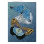 Butterflies in Flight - Customize Greeting Card
