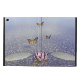 Butterflies in flight in a Zen landscape Case For iPad Air