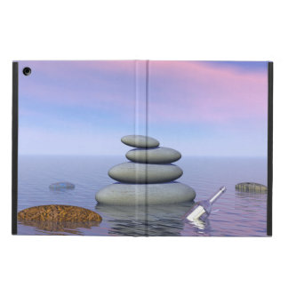 Butterflies in flight in a Zen landscape iPad Air Case