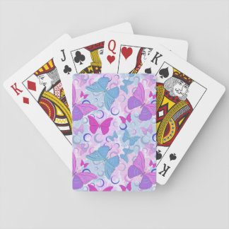 Butterflies in Flight Playing Cards