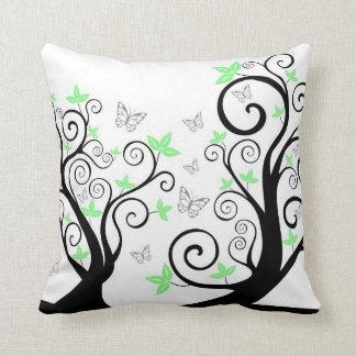Butterflies in Trees American MoJo Pillow