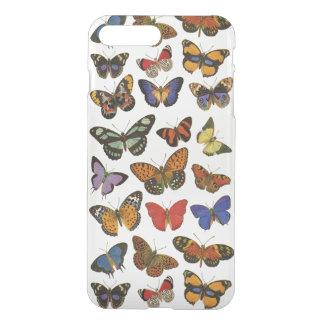 Butterflies iPhone X/8/7 Plus Clear Case
