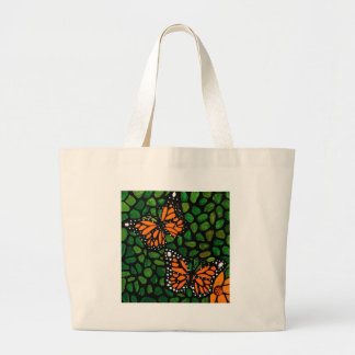 butterflies large tote bag
