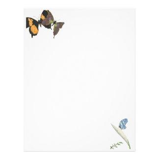 Butterflies Letterhead Design