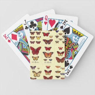 Butterflies - Letters of poker Bicycle Playing Cards