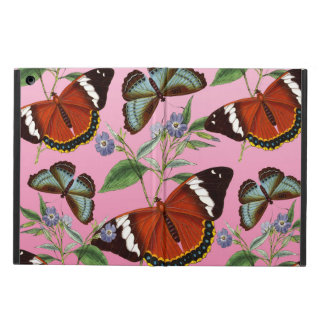 butterflies mix pink iPad air cover
