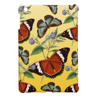 butterflies mix yellow iPad mini case