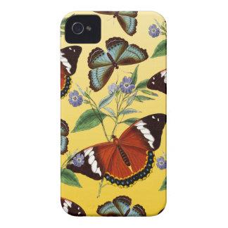 butterflies mix yellow iPhone 4 Case-Mate case