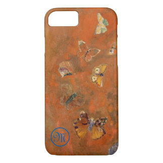 Butterflies Monogram - iPhone 8/7 Case