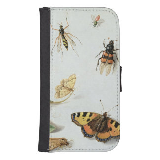 Butterflies, moths and other insects phone wallet case
