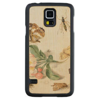 Butterflies, moths and other insects carved® maple galaxy s5 case