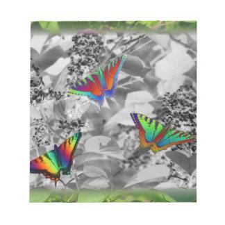 Butterflies Notepad