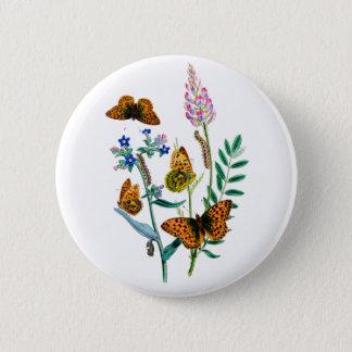 Butterflies of Summer 2 Inch Round Button
