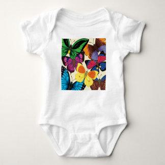 Butterflies of the World Baby Bodysuit
