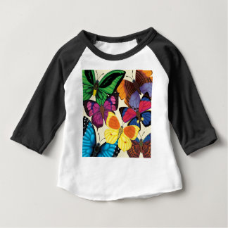 Butterflies of the World Baby T-Shirt