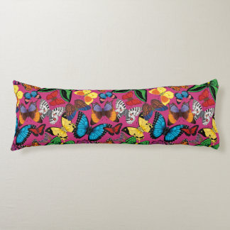 Butterflies of the World Body Pillow
