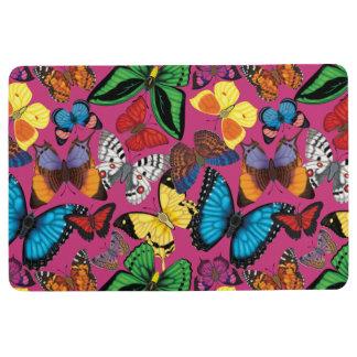 Butterflies of the World Floor Mat