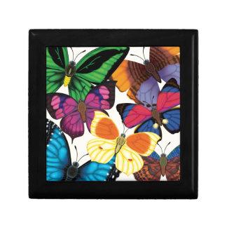 Butterflies of the World Keepsake Boxes